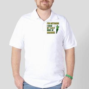 Funny Golfing Retirement Golf Shirt
