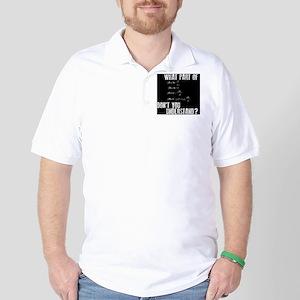 MPdontyounderstand Golf Shirt