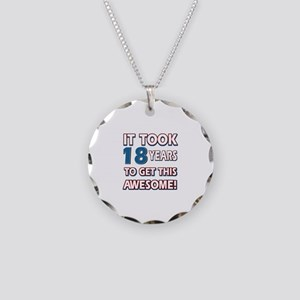 18 Year Old birthday gift ideas Necklace Circle Ch