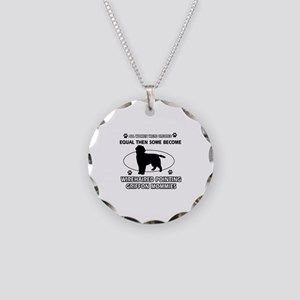 Wirehaired Pointing Griffon mommy designs Necklace