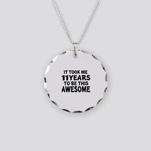 11 Years To Be This Awesome Necklace Circle Charm