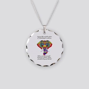 Diversity Necklace Circle Charm