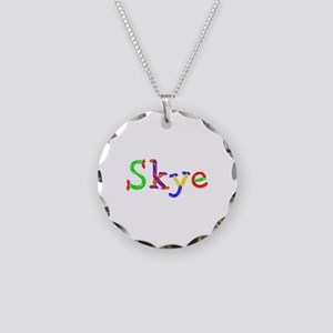 Skye Balloons Necklace Circle Charm