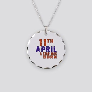 11 April A Star Was Born Necklace Circle Charm