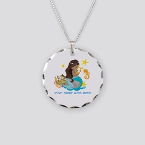 Brunette Mermaid Necklace
