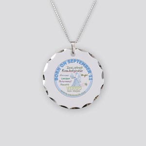 September 11th Birthday - Vi Necklace Circle Charm