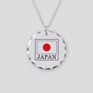 Japan Necklace Circle Charm