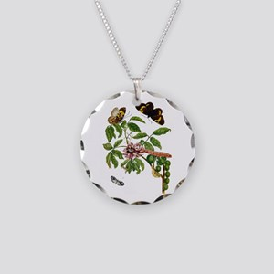 Maria Sibylla Merian - Butte Necklace Circle Charm