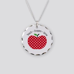Teach Inspire Grow Necklace