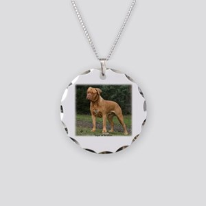 Dogue de Bordeaux 9Y201D-193 Necklace Circle Charm