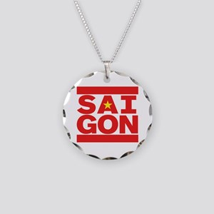 SAIGON Necklace Circle Charm