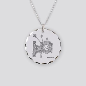 Field's Clock Necklace Circle Charm