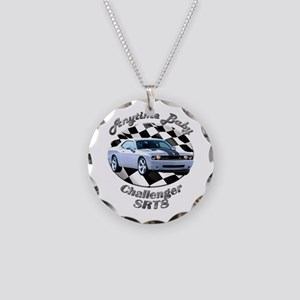 Dodge Challenger SRT8 Necklace Circle Charm