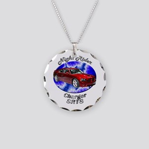 Dodge Charger SRT8 Necklace Circle Charm