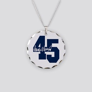 President Trump 45 - Donald Trump Necklace