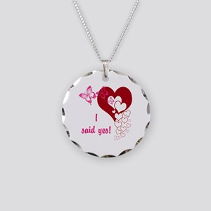 I Said Yes Necklace