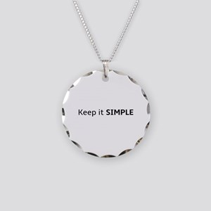 Keep It Simple Necklace Circle Charm