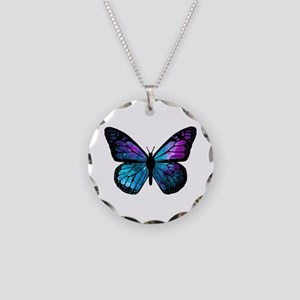 Galactic Butterfly Necklace