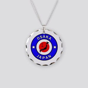 Osaka Japan Necklace Circle Charm