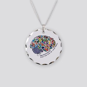 Mind-Life 1 Necklace Circle Charm
