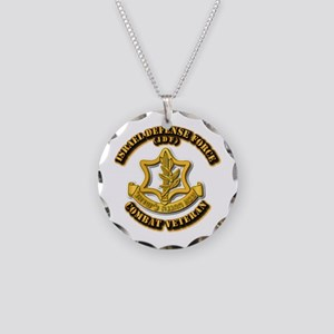 Israel Defense Force - IDF - Necklace Circle Charm