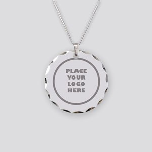 Personalized Logo Necklace Circle Charm