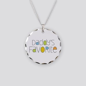 Daddy's Favorite Necklace Circle Charm