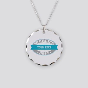 Worlds Best Personalized Necklace Circle Charm