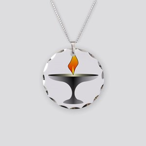 Unitarian Universalist Necklace Circle Charm