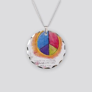 2 Necklace Circle Charm