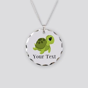 Personalizable Sea Turtle Necklace