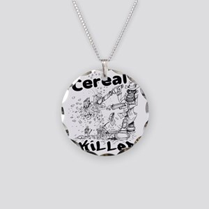 Cereal Killer Necklace Circle Charm