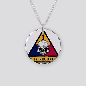 4-17 Recondo Patch 1st AD.gi Necklace Circle Charm