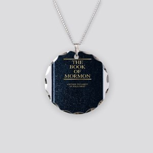 The Book of Mormon Necklace Circle Charm