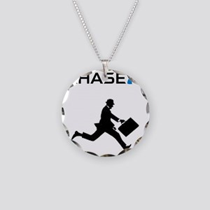ChaseMan Necklace Circle Charm