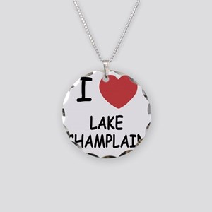 LAKE_CHAMPLAIN Necklace Circle Charm