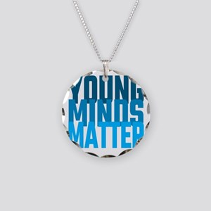 Young Minds Matter Necklace Circle Charm