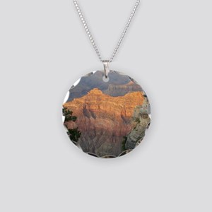Grand Canyon Necklace Circle Charm