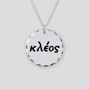 Kleos Necklace Circle Charm