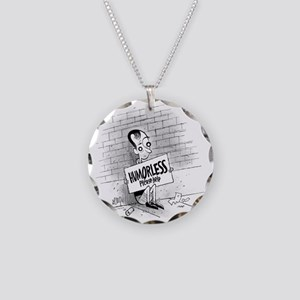 Humorless_450 Necklace Circle Charm