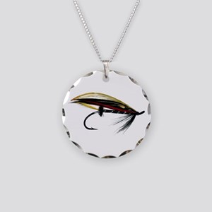 """Fly 1"" Necklace Circle Charm"