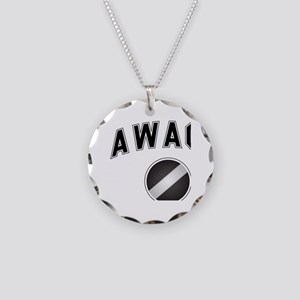 AWACS Alumni Necklace Circle Charm