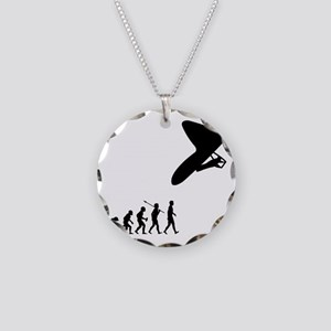 Hang-Gliding-032 Necklace Circle Charm