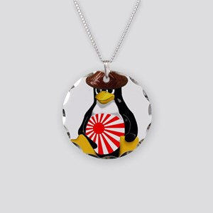 Tux in Japan Necklace