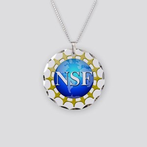 nsflogo Necklace Circle Charm