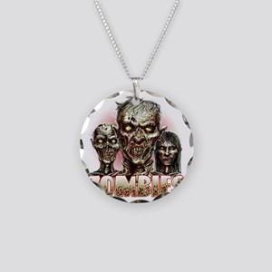 zombies Necklace Circle Charm