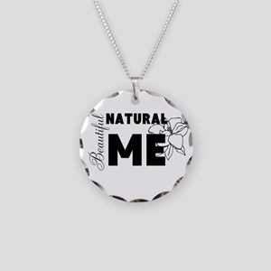 Beautiful Natural Me Necklace Circle Charm