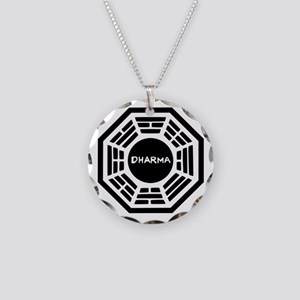 Dharma Initiaive Logo Necklace