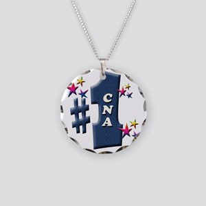 number 1 cna Necklace Circle Charm