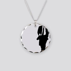 bigobama Necklace Circle Charm